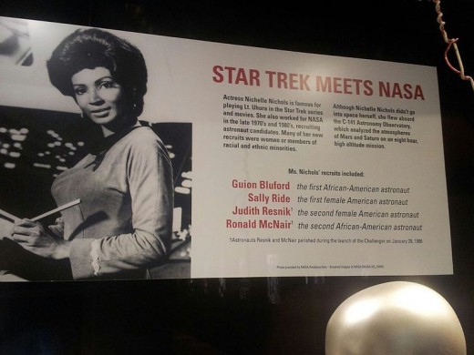 Nichelle (Grace) Nichols recruited many astronauts of color for NASA.