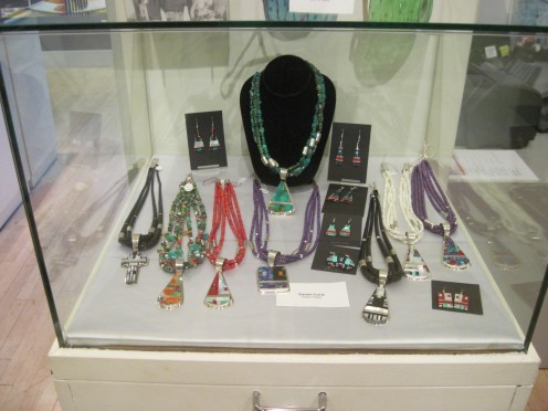 Jewelry at Museum of Contemporary Native Arts
