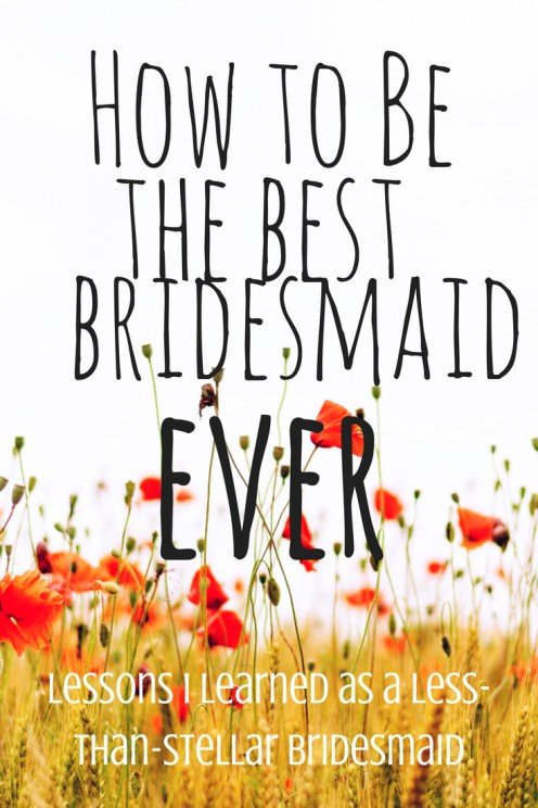 What Does a Bridesmaid Even Do?