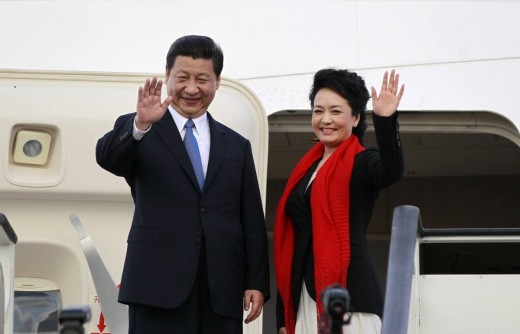 Chinese President and wife:  China worried about situation on the Korean Peninsula