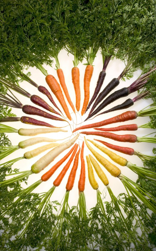 Carrots are a strong ingredient for fertility spells.