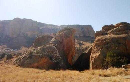 Retief se Klip (Retief's Rock), Kerkenberg, KZN, South Africa