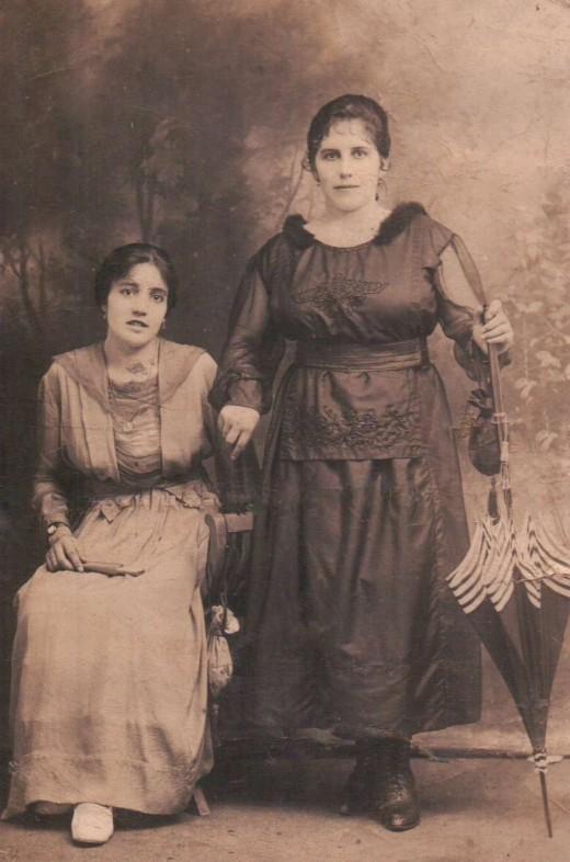 Filomena and Clotilde Lamoso