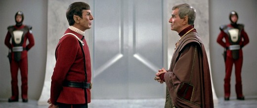 Spock and Sarek.