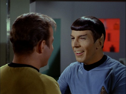 ...and Spock of Earth.