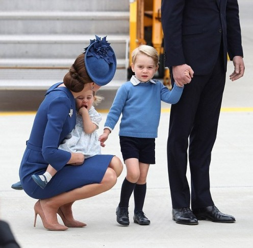 "Kate  Middleton: princess, wife, mom, public idol, and more than a ""10."""