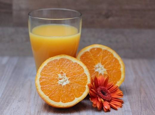 Sweet and juicy oranges.