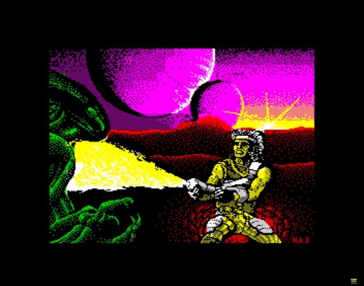 Trantor the last Stormtrooper had impressive visuals on the ZX Spectrum
