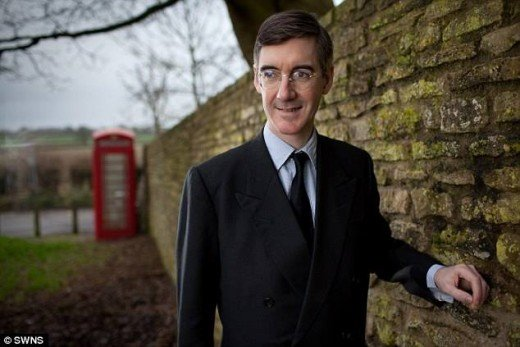 Conservative back bencher and opponent of hike in National Insurance contributions for the self employed Jacob Rees - Mogg