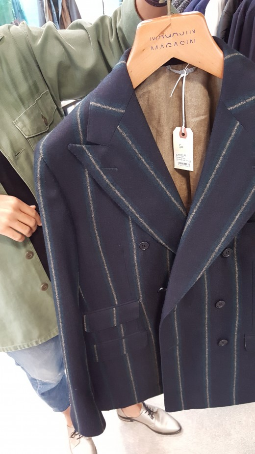 "Blazer from ""Magasin"" men's store at ""The Platform"" in Culver City, California."