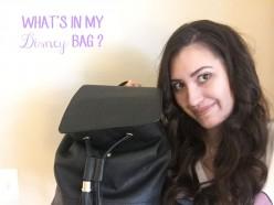 What's In My Disney Bag