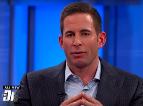 Tarek El Moussa, Christina's soon-to-be ex-husband.