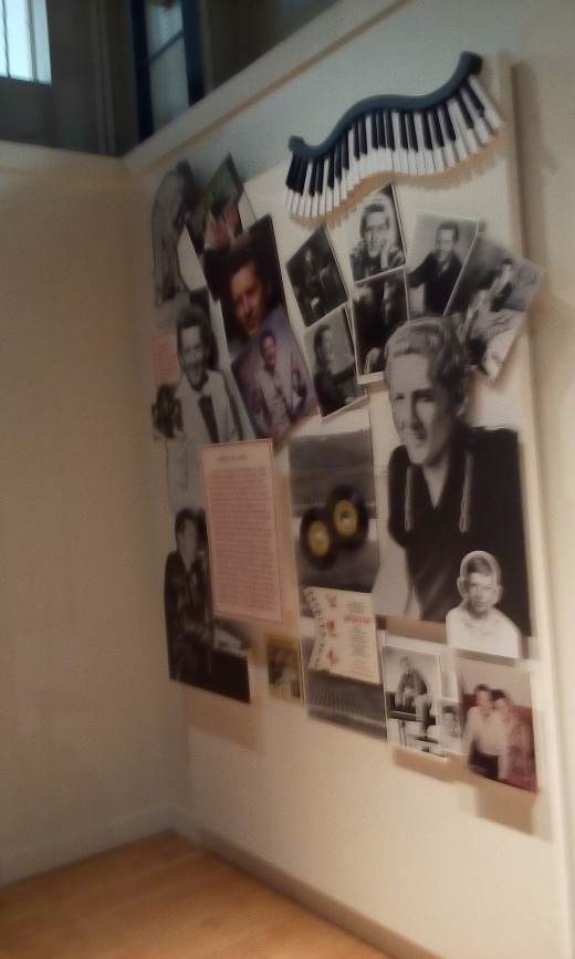 Jerry Lee Lewis Informative Display