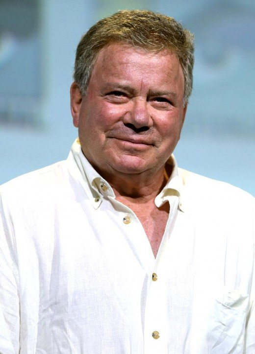 William Shatner at last year's Comic Con