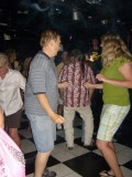"""""""Dancin' Dan"""" and anyone he could find, dancing with the energy of a 20 yr old!"""