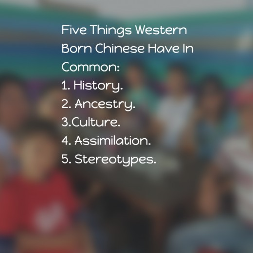 Western Born Chinese referred to as  share some common experiences.