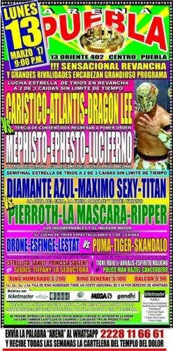 CMLL Puebla: Prelude