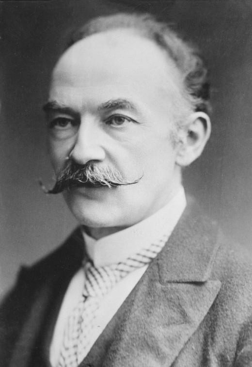 Thomas Hardy (1840 - 1928).