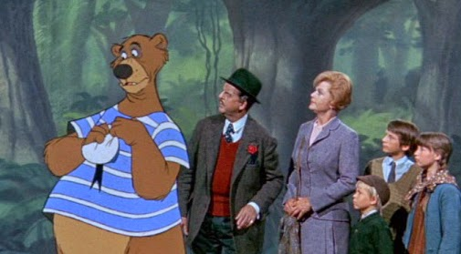 """The film works so hard to remind viewers of """"Mary Poppins"""" that it's off-putting."""