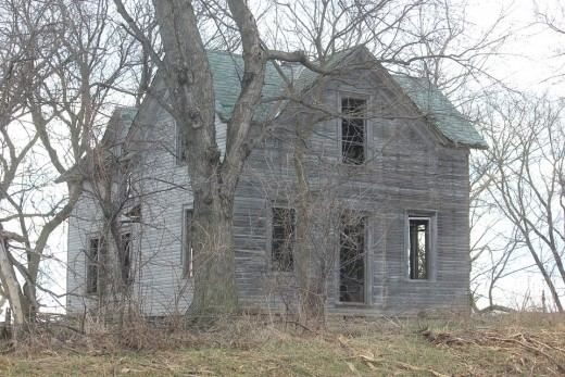 Evil spirits linger in abandoned places, but often make their way into places where people live too.