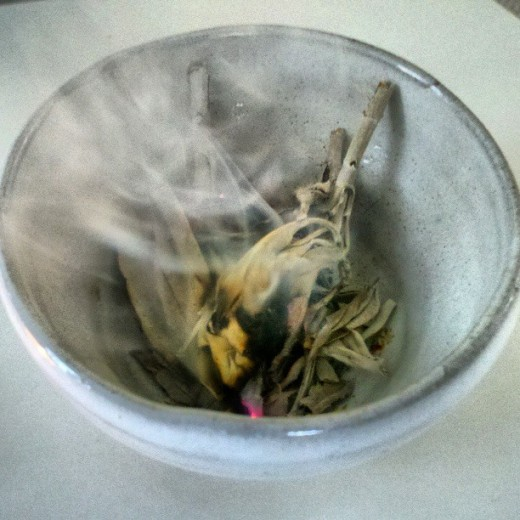 Smudging Is A Must When Trying To Remove Negative Enies