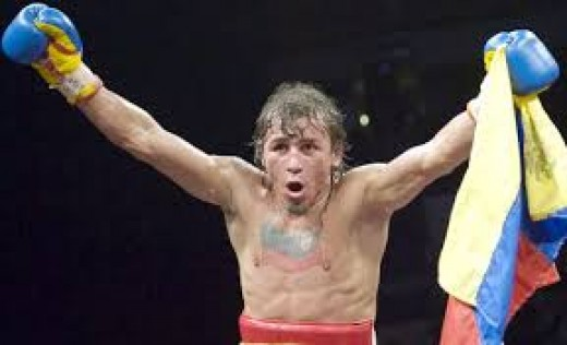 Edwin Valero was a two weight class champion, having been the junior lightweight and lightweight champion.