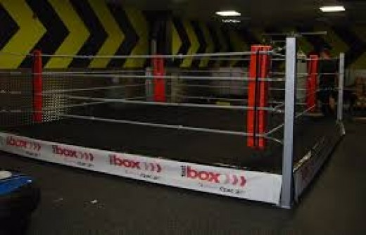 Professional boxing rings can be anywhere from 16 feet to 22 feet. Boxers like the bigger ring, while punchers like the smaller ring.