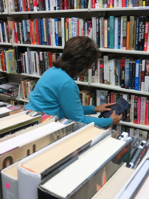 Physical high street second-hand book stores are your competitors.