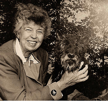 Eleanor Roosevelt -- First Lady and famous orphan.