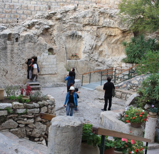 While no one knows for sure where Christ was laid, the Garden Tomb gives us a glimpse of what a typical burial tomb would have been in 33 AD