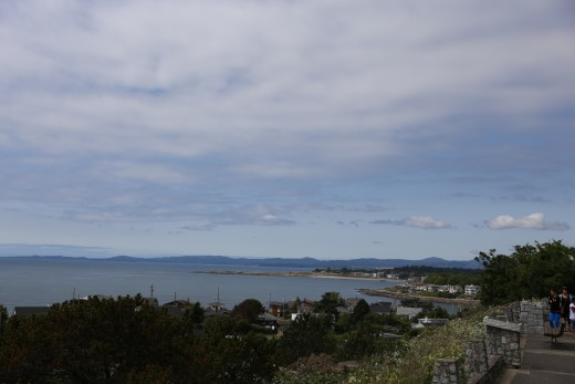Overlooking Oak Bay from the Lookout.