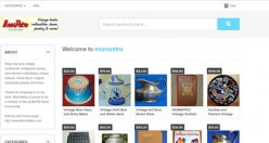 MomsRetro; Building A Free eCrater Store With Vintage Cookbooks, Collectibles and More