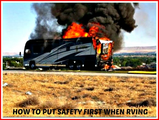 Making regular checks for gas leaks can help to avoid RV fires.