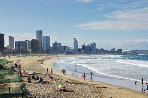 uShaka Beach, Durban, KwaZulu-Natal, South Africa