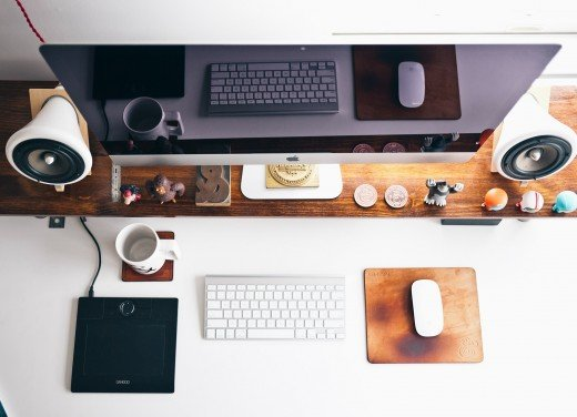 Keeping a few discrete mementos that remind you of your spiritual values and beliefs on your desk can help add a sense of calm and serenity to your day at work.
