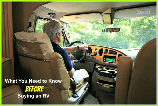 Jumping into the purchase of an RV without knowing how to protect your interests is a big mistake.
