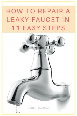 How to Fix a Leaking Tap Yourself