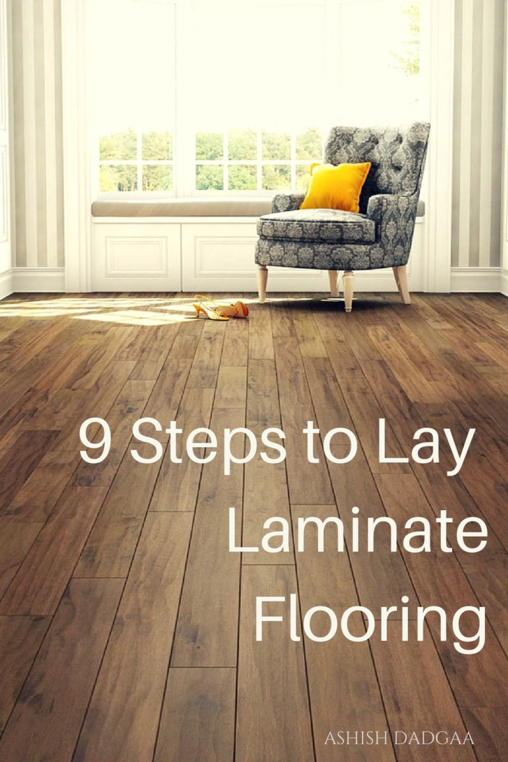How to install laminate flooring on wood subfloor dengarden for Laying laminate flooring