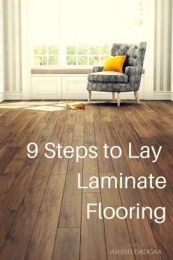 9 Steps to Lay Laminate Flooring