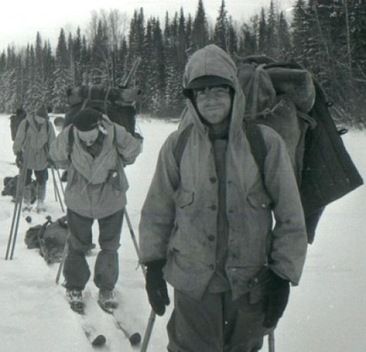 Members of an ill-fated ski journey are shown shortly before perishing in what has become known as the Dyatlov Pass Incident. Nine hikers died in the Russian tragedy nearly six decades ago.