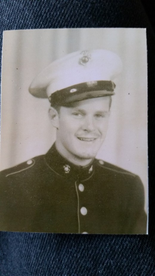 My Father Served in the Marines during WWII