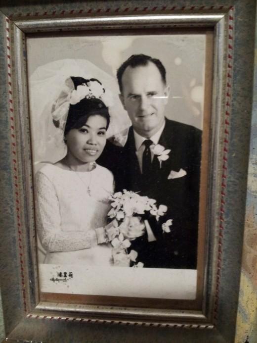 My Parent's Wedding Photo