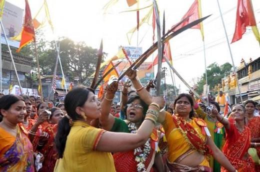 Hindus New Year Celebration