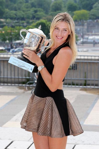 Tennis star Maria Sharapova - Aries