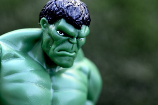 You wouldn't like me when I'm angry.