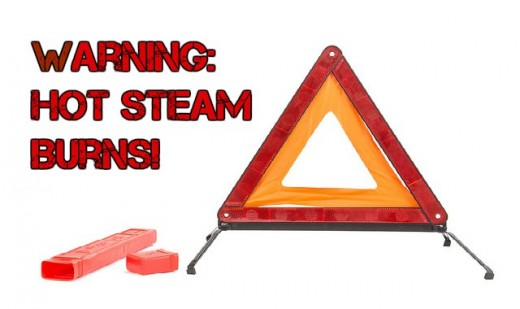 Steam cleaners should be used cautiously, the hot steam can cause burns.