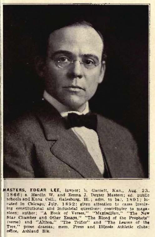 "55. Edgar Lee Masters' ""Lucius Atherton"""
