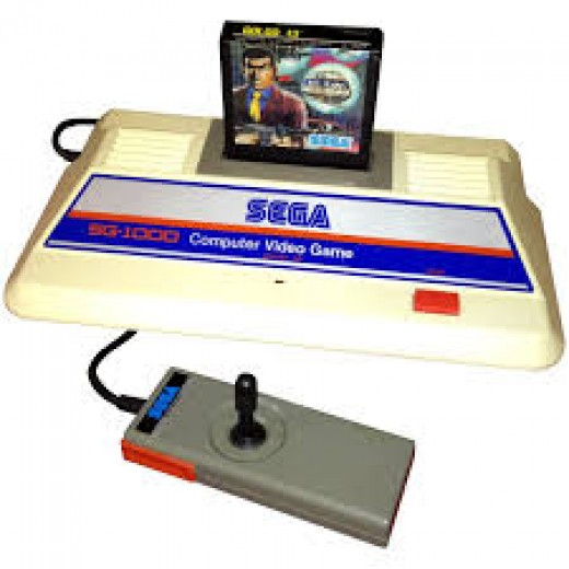 The Sega SG-1000 is the first video game console released by Sega and it had a joystick type controller.