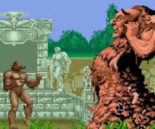 "When Sega Genesis went on sale it came packed with two controllers and the game, ""Altered Beast""."