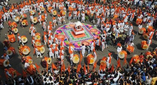 Hindu New Year Celebration in India